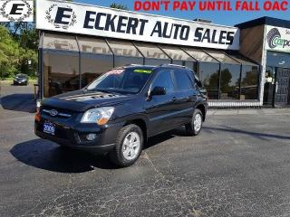 Used 2009 Kia Sportage LX-Convenience 5 SPEED MANUAL AWD for sale in Barrie, ON
