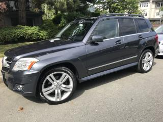 Used 2010 Mercedes-Benz GLK-Class Silver for sale in Vancouver, BC