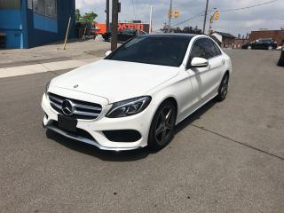 Used 2015 Mercedes-Benz C-Class C400 4matic nav cam blindspot parktronic 1owner for sale in York, ON