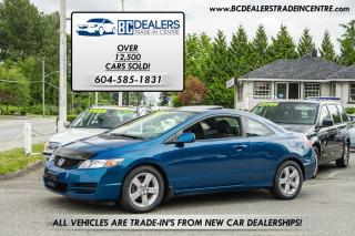 Used 2010 Honda Civic LX Coupe, Local, No Accidents, Low Km's!! for sale in Surrey, BC