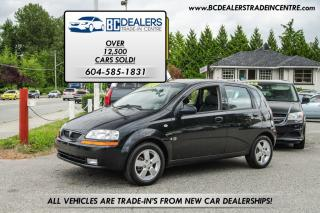 Used 2007 Pontiac Wave SE Auto, Local, Clean, Fuel Efficient, Sunroof! for sale in Surrey, BC