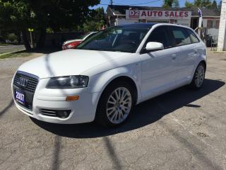 Used 2007 Audi A3 Automatic/Clean Carproof/Panoramic Sunroof/Loaded for sale in Scarborough, ON