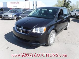 Used 2017 Dodge GRAND CARAVAN CVP WAGON 7PASS 3.6L for sale in Calgary, AB