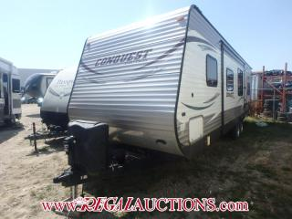 Used 2014 Gulf Stream CONQUEST SERIES 279QBL  TRAVEL TRAILER for sale in Calgary, AB