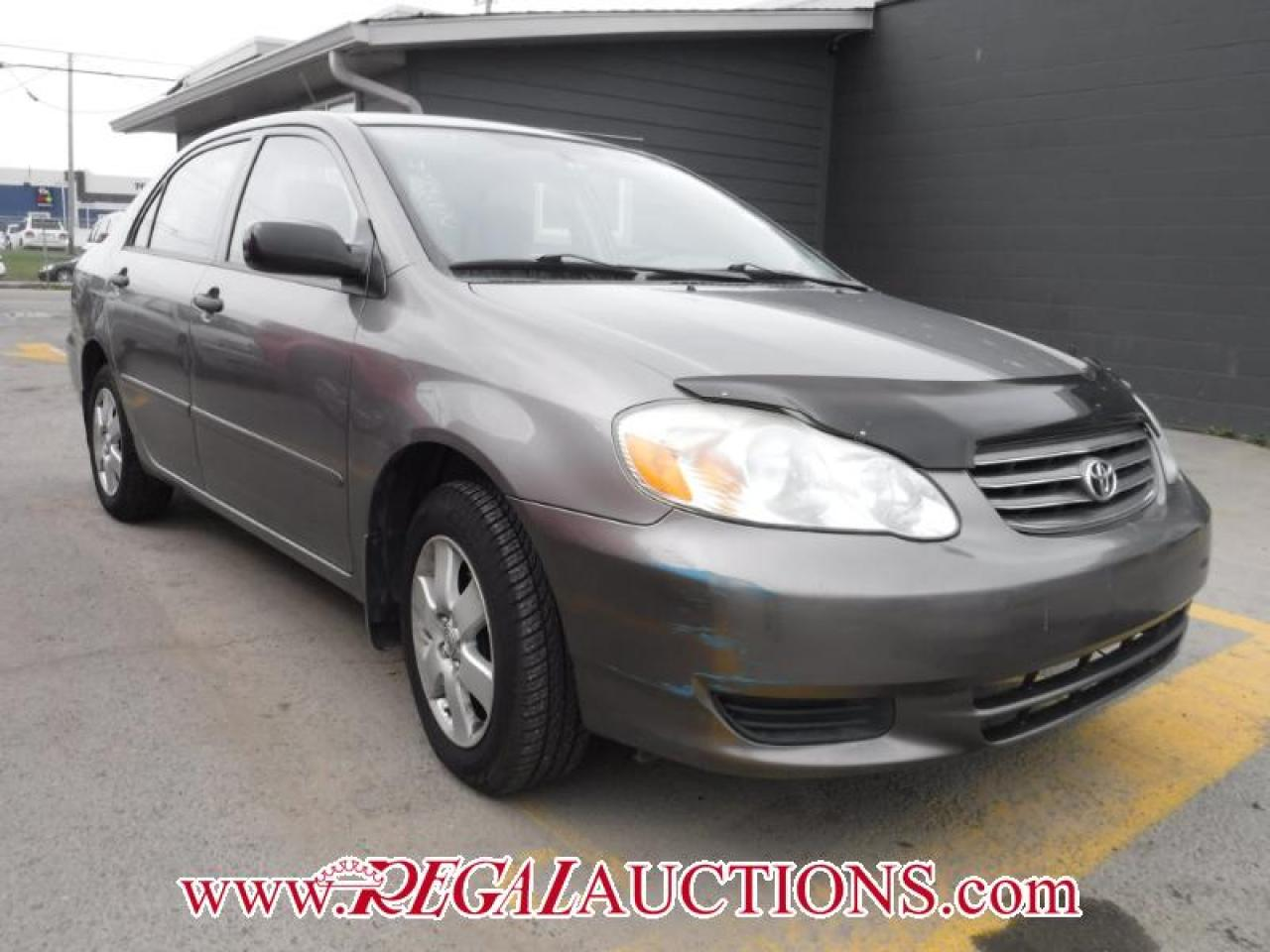 Photo of Grey 2004 Toyota Corolla