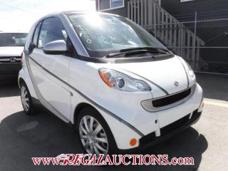 Used 2012 Smart FORTWO PURE 2D COUPE for sale in Calgary, AB
