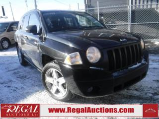 Used 2009 Jeep Compass 4D Utility 2WD for sale in Calgary, AB