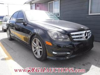 Used 2013 Mercedes-Benz C-CLASS C300 4D SEDAN 4MATIC for sale in Calgary, AB