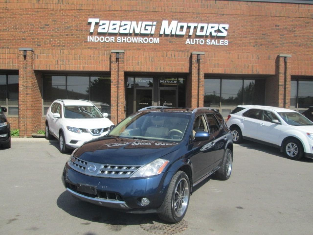 2007 Nissan Murano SL | AWD | LEATHER | SUNROOF | HEATED SEATS | BLUETOOTH