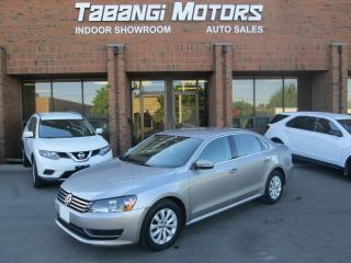 Used 2014 Volkswagen Passat TRENDLINE | NO ACCIDENT | HEATED SEATS | BLUETOOTH for sale in Mississauga, ON