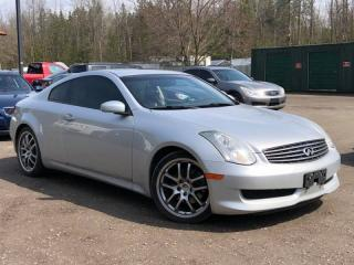 Used 2006 Infiniti G35 Sport 6-Speed Manual Leather Sunroof for sale in Newmarket, ON