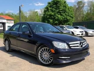 Used 2011 Mercedes-Benz C-Class Accident-Free C 250 4Matic AWD Leather Bluetooth for sale in Newmarket, ON