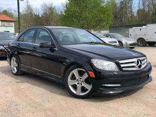 Used 2011 Mercedes-Benz C-Class C300 4matic AWD Leather Sunroof for sale in Newmarket, ON