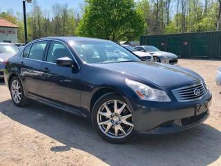 Used 2009 Infiniti G37 S AWD ONE OF A KIND Leather Sunroof for sale in Newmarket, ON