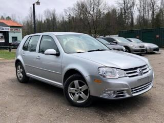 Used 2008 Volkswagen City Golf 5-Speed Manual Heated Seats Power Group for sale in Newmarket, ON