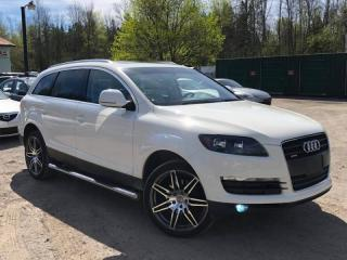 Used 2008 Audi Q7 3.6 Premium AWD Navi Leather Pano Roof for sale in Newmarket, ON