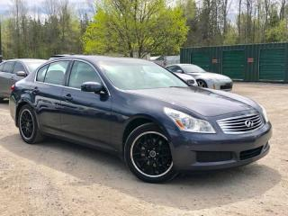 Used 2008 Infiniti G35 No-Accidents Sport AWD Leather Sunroof Bose Audio for sale in Holland Landing, ON