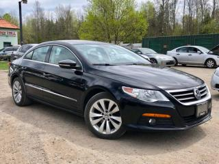 Used 2010 Volkswagen Passat CC 2.0 T Manual-6 Speed SportLine Leather Sunroof for sale in Newmarket, ON