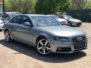Used 2011 Audi A4 2.0T Premium Plus AWD Blind Spot Leather Sunroof for sale in Newmarket, ON