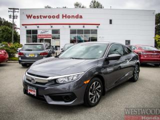 Used 2016 Honda Civic LX w/Honda Sensing - Certified til 2023 for sale in Port Moody, BC