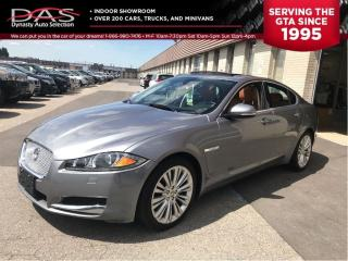 Used 2012 Jaguar XF Portfolio/5.0L/NAVIGATION/REAR VIEW CAMERA for sale in North York, ON