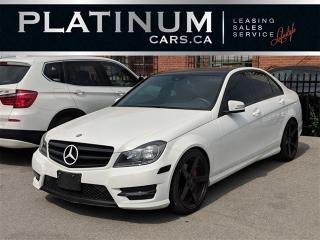 Used 2014 Mercedes-Benz C300 4MATIC, NAVI, HEATED LEATHER, SUNROOF for sale in North York, ON