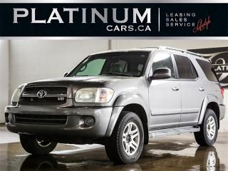 Used 2005 Toyota Sequoia LIMITED, 7 PASSENGER, HEATED LEATHER, SUNROOF for sale in North York, ON