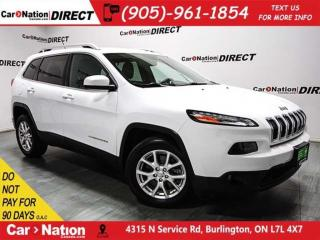 Used 2014 Jeep Cherokee North| BACK UP CAM| HEATED SEATS & STEERING WHEEL| for sale in Burlington, ON