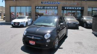 Used 2012 Fiat 500 Sport/SUNROOF/2 SETS TIRES for sale in North York, ON
