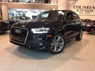 Used 2015 Audi Q3 2.0T Progressiv **1 OWNER** for sale in Toronto, ON