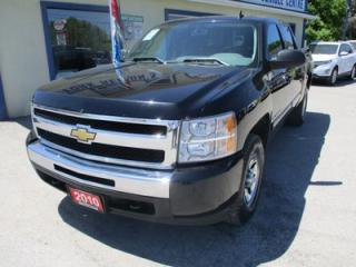 Used 2010 Chevrolet Silverado 1500 WORK READY LS EDITION 6 PASSENGER 4.8L - V8.. 4X4.. CREW.. SHORTY.. CD/AUX INPUT.. KEYLESS ENTRY.. TOW SUPPORT.. for sale in Bradford, ON