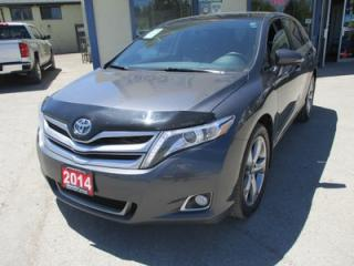 Used 2014 Toyota Venza LOADED LIMITED EDITION 5 PASSENGER 3.5L - V6.. AWD.. LEATHER.. HEATED SEATS.. NAVIGATION.. BACK-UP CAMERA.. DUAL SUNROOF.. for sale in Bradford, ON