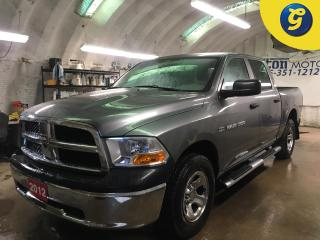 Used 2012 RAM 1500 OUTDOORSMAN*CREW CAB*4WD*HEMI*SIDE STEPS*BOX LINER*CHROME RIMS*HITCH RECEIVER w/PIN CONNECTOR*KEYLESS ENTRY*POWER WINDOWS/LOCKS/HEATED MIRRORS* for sale in Cambridge, ON