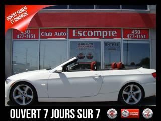 Used 2008 BMW 3 Series 335 i Cabriolet/Convertible Cuir Rouge for sale in Mascouche, QC