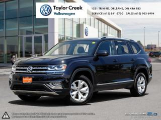Used 2018 Volkswagen ATLAS Highline 3.6L 8sp at w/Tip 4MOTION for sale in Orleans, ON
