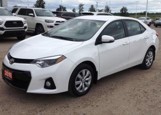 Used 2015 Toyota Corolla S for sale in Renfrew, ON