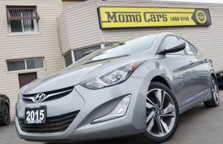 Used 2015 Hyundai Elantra GLS! Backup Cam+Sunroof!Only $128/Bi-Weekly! for sale in St Catharines, ON