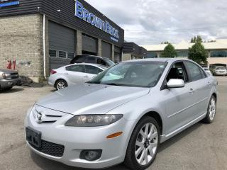 Used 2006 Mazda MAZDA6 GT, LOCAL, V6, LEATHER, MOONROOF for sale in Surrey, BC