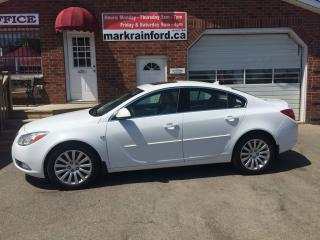Used 2011 Buick Regal CXL w/1SD Heated Leather Sunroof Bluetooth for sale in Bowmanville, ON
