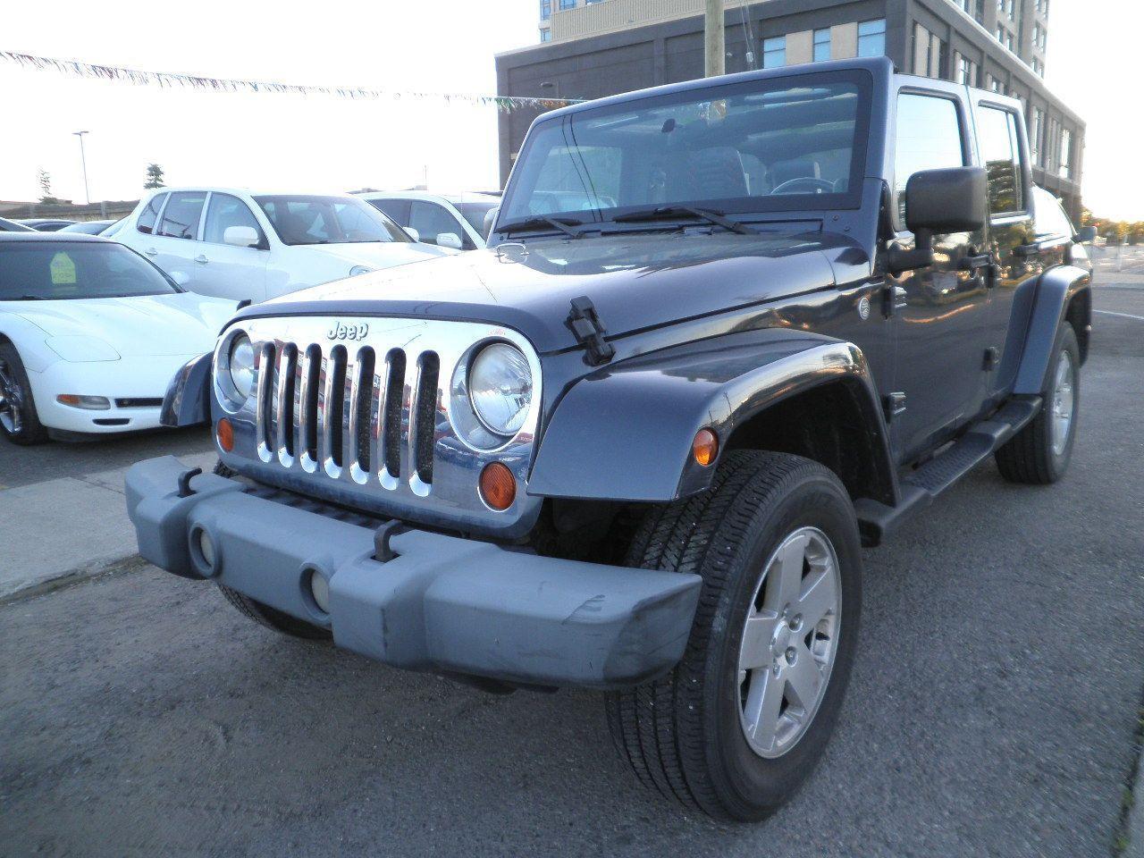 Photo of Gray 2007 Jeep Wrangler