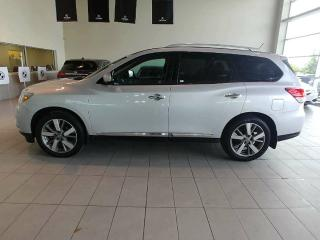 Used 2014 Nissan Pathfinder S - Heated Leather, Sunroof, B/U Cam, Navi, Bluetooth + more! for sale in Red Deer, AB