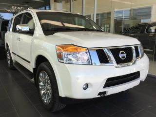 Used 2015 Nissan Armada PLATINUM, NAVI, 4WD, ACCIDENT FREE for sale in Edmonton, AB