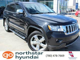 Used 2013 Jeep Grand Cherokee OVRLND/LEATHER/NAV/V6 for sale in Edmonton, AB