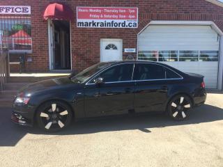 Used 2012 Audi A4 2.0T Premium Plus S-Line Quattro for sale in Bowmanville, ON