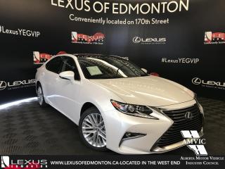 Used 2018 Lexus ES 350 DEMO UNIT - EXECUTIVE PACKAGE for sale in Edmonton, AB