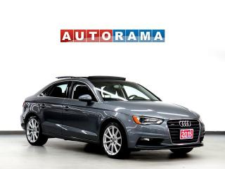 Used 2015 Audi A3 LEATHER SUNROOF 4WD for sale in North York, ON