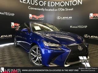 Used 2018 Lexus GS 350 DEMO UNIT - F SPORT SERIES 2 for sale in Edmonton, AB