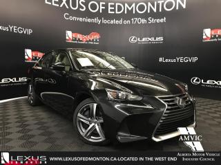 Used 2018 Lexus IS 350 DEMO UNIT - EXECUTIVE PACKAGE for sale in Edmonton, AB