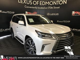 New 2018 Lexus LX 570 EXECUTIVE PACKAGE for sale in Edmonton, AB