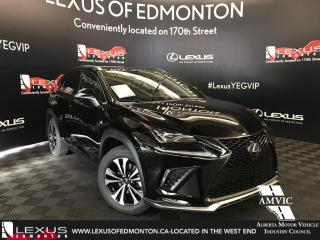 New 2018 Lexus NX 300 F Sport Series 3 for sale in Edmonton, AB